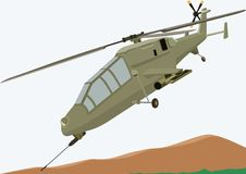 Combat Helicopter Royalty Free Stock Photos