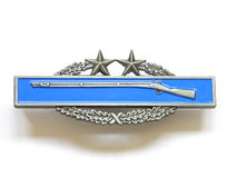 Combat infantry badge Royalty Free Stock Images