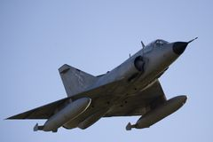 Combat Jet in Flight Royalty Free Stock Photography