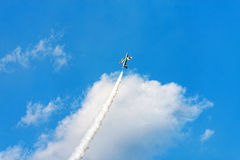 Combat jets in the air Royalty Free Stock Photo