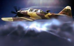 Combat plane Royalty Free Stock Image