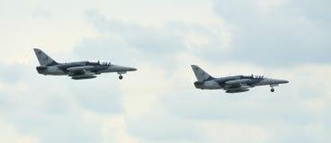 Combat planes Royalty Free Stock Image