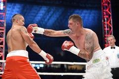 Combat pour la ceinture de champions Images libres de droits