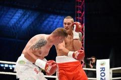 Combat pour la ceinture de champions Image libre de droits