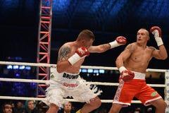 Combat pour la ceinture de champions photo libre de droits