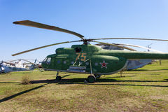 Combat transport helicopter Royalty Free Stock Image