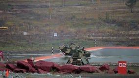 Combat vehicle stock video footage