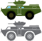 Combat vehicle Stock Image