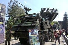 Combat vehicles Royalty Free Stock Photos