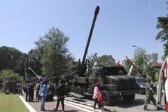Combat vehicles Stock Images