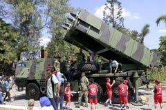 Combat vehicles Stock Image