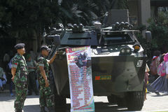 Combat vehicles Stock Photography