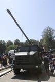 Combat vehicles Royalty Free Stock Photography