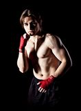 Combate corpo a corpo Imagem de Stock Royalty Free