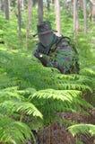 Combate do treino militar Imagem de Stock Royalty Free