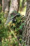 Combate do treino militar fotografia de stock