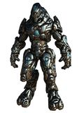 Combate Droid, isolado no branco Imagens de Stock Royalty Free