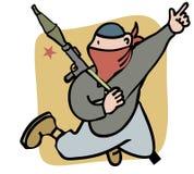 combatiente stock de ilustración
