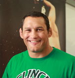 Combatiente de Dan Henderson- Strikeforce MMA Fotografía de archivo