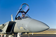 Combatiente de jet fotografía de archivo libre de regalías