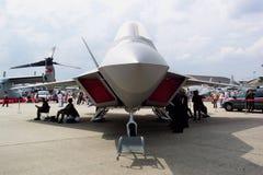 Combatiente de la cautela del rapaz YF-22 Fotos de archivo libres de regalías