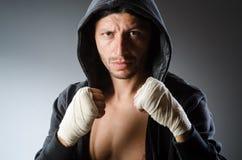 Combatiente de los artes marciales Foto de archivo libre de regalías