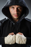 Combatiente de los artes marciales Fotos de archivo libres de regalías
