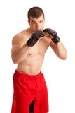 Combatiente de MMA imagen de archivo
