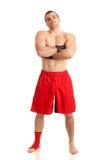 Combatiente de MMA imagen de archivo libre de regalías