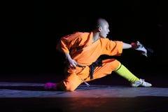 Combatiente de Shaolin Fotos de archivo libres de regalías