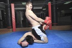 Combatiente de UFC fotos de archivo