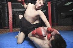 Combatiente de UFC foto de archivo libre de regalías