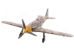 Combatiente del aeroplano imagenes de archivo