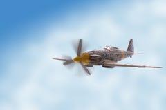 Combatiente del aeroplano foto de archivo