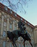 Combatiente del caballo, Kleistpark, Berlín Imagen de archivo