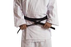 Combatiente del judo de los países diferentes Fotografía de archivo libre de regalías