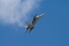 Combatiente F-18 Imagenes de archivo