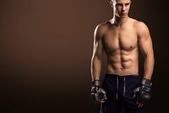 Combatiente mezclado de los artes marciales Imagenes de archivo
