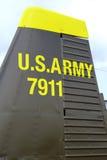 Combatiente viejo de la fuerza aérea Estados Unidos Imágenes de archivo libres de regalías