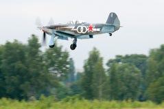 Combatiente Yak-3 Fotos de archivo