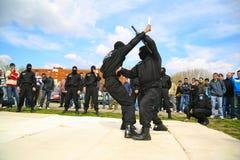 Combatientes de las fuerzas especiales Fotos de archivo
