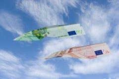 Combatientes euro Imagen de archivo libre de regalías