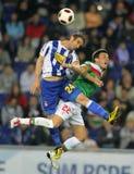 Combats d'Ivan Alonso avec Castillo Photo libre de droits