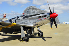 Combattant du mustang P51 Photos stock