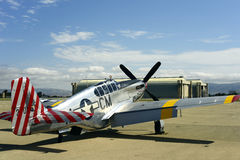 Combattant du mustang P51 Photographie stock