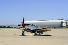 Combattant du mustang P51 Images stock