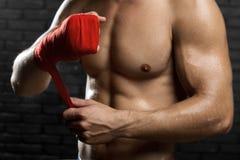 Combattant mélangé d'arts martiaux photographie stock