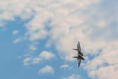 Combattant Mig-29M2 à MAKS Airshow 2015 Photos stock