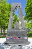 Combattants de Guerre de Corée commémoratifs Photos libres de droits