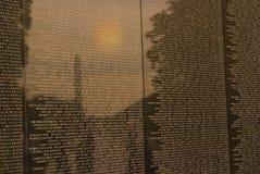Combattants de Vietnam commémoratifs image libre de droits